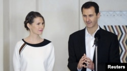 Сириянын президенти аялы менен