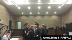 Fahrudin Radončić, na svjedočenju u procesu protiv Nasera Keljmendija u Prištini 31. oktobra 2016.