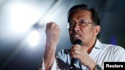Малайзиядагы оппозициячыл саясатчы Анвар Ибрагим.