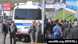 Ռուսաստան - Ոստիկանությունը Մոսկվայում ստուգում է ներգաղթյալների փաստաթղթերը, արխիվ