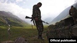 Ілюстраційне фото. Російські військові вчення в Південній Осетії, 2015 рік