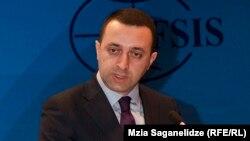Ушедший в отставку премьер-министр Грузии Ираклий Гарибашвили