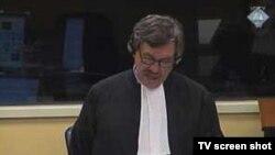 Kenneth Scott, tužilac, Tužilaštva u Hagu počelo iznošenje završnih riječi u predmetu šest visokih političkih i vojnih zvaničnika takozvane Herceg-Bosne, Haškog tribunala, 11. februar 2011.