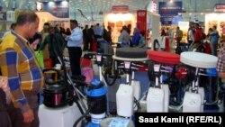 جانب من معروضات معرض بغداد الدولي(من الارشيف)
