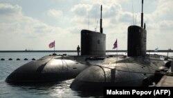 Submarine rusești la Tartus, septembrie 2019