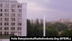 Ракета Р-12 на території дніпропетровського заводу «Південмаш»