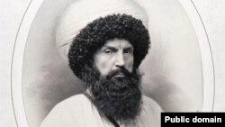 Деньер Генриха даьккхина имаман Шамилан портрет, 1859