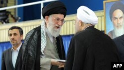 Ajatolah Ali Hamenei prihvata izbor Hasana Rohanija, 3. avgust 2013.