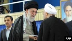 Аятолла Али Хаменеи Хасан Роуханини президент кылып бекитти. 03.08.2013
