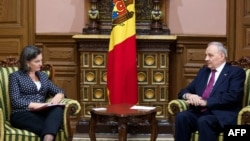 Victoria Nuland primită de președintele Nicolae Timofti la Chișinău