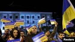 Акция в поддержку Надежды Савченко в Тбилиси