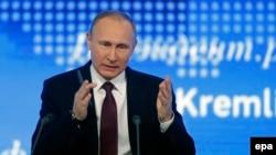 Большая пресс-конференция Владимира Путина в декабре 2016 года