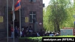 Здание Государственного лингвистического университета имени Валерия Брюсова в Ереване