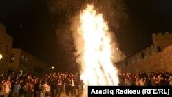 Празднование Новруза в Баку - [фото]