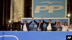 Митинг на Народната партија на Маријано Рахој