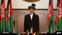 """President Ashraf Ghani says the agreement is """"for the good of our people, the stability of the region, and the world."""""""