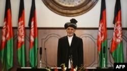 Инаугурация нового президента Афганистана Ашрафа Гани. Кабул, 29 сентября 2014 года.