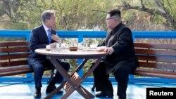 Встреча лидеров Южной Кореи и КНДР