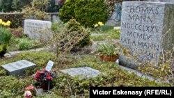 Mormântul familiei Thomas Mann la Kilchberg în Elveția