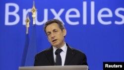 Francuski predsjednik Nicolas Sarkozy