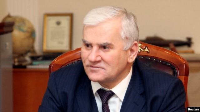 Makhachkala Mayor Said Amirov (file photo)