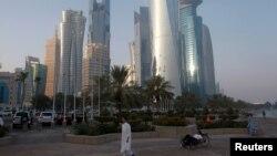 نمایی از دوحه پایتخت قطر (عکس از آرشیو)