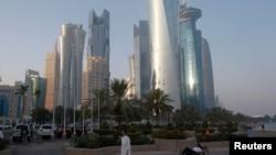 Доха (столица Катара).