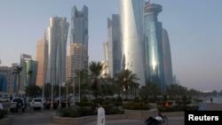 Катар астанасы Доха.