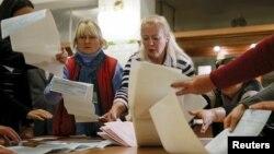 Ուկրաինա - Քվեների հաշվարկը ՏԻՄ ընտրություններում, Կիև, 25-ը հոկտեմբերի, 2015թ․