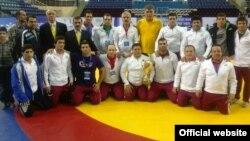 اعضای تیم ملی کشتی فرنگی ایران