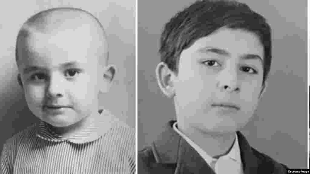 Дитячі знімки Міхеїла Саакашвілі, колишнього президента Грузії та колишнього голови Одеської області