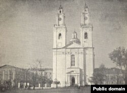 Касьцёл Сьвятога Стэфана ў Полацку, 1910 год