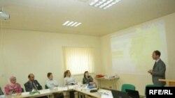 صورة عن ورشة العمل للجامعات العراقية في اربيل من قبل مركز التكنولوجيا والتدريب الاوربي