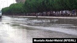 أمطار العام الماضي في كربلاء