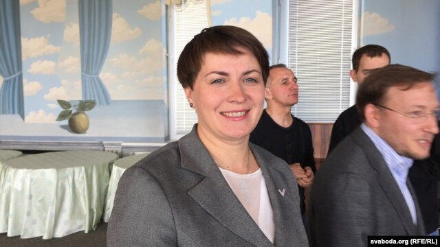 Tatsyana Karatkevich won just 4 percent of the official vote in Belarus's presidential election earlier this month. (file photo)