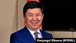 Қырғызстан премьер-министрі Темір Сариев. Бурабай, Қазақстан, 29 мамыр 2015 жыл.