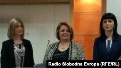 Прес конференција на Специјалното јавно обвинителство (СЈО).