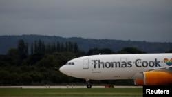 Thomas Cook şirkətinə məxsus A330-200 təyyarəsi
