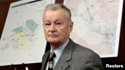 Former U.S. national security adviser Zbigniew Brzezinski (file photo)