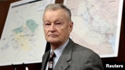 Former U.S. national security adviser Zbigniew Brzezinski (file photo)