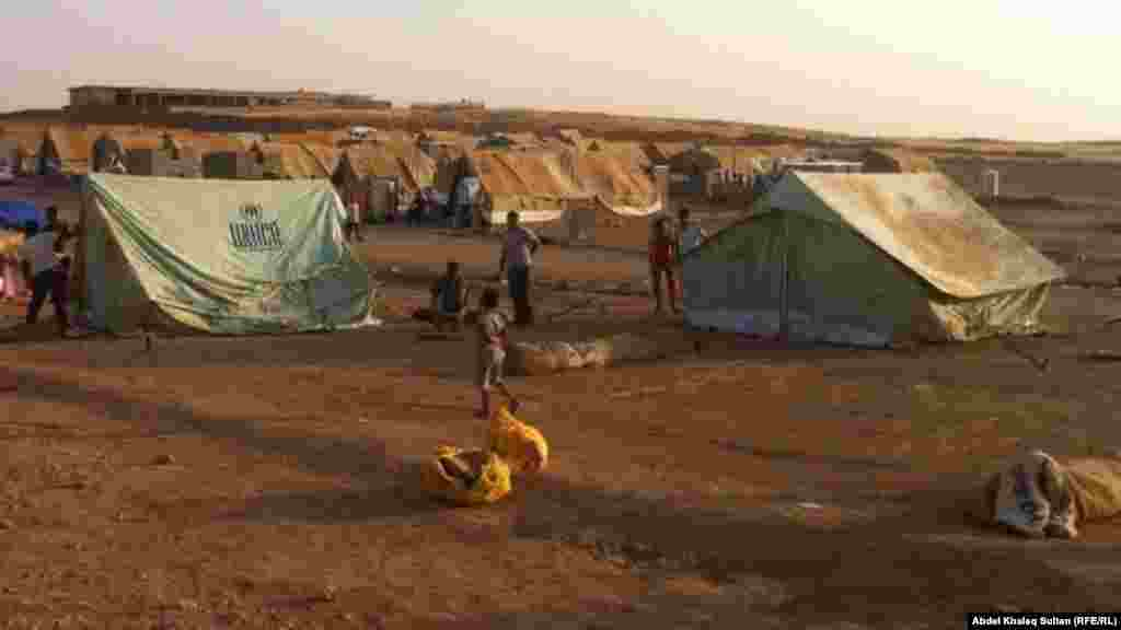 A camp of Syrian refugees in Dohuk, Turkey. Developing countries host four-fifths of the world's refugees, according to the UNHCR.