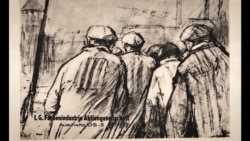 The Unique Auschwitz Sketches That Were Buried By Soviet Censors