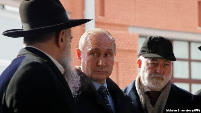 Владимир Путин и Виктор Вексельберг
