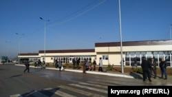 Центр надання адміністративних послуг на КПВВ «Каланчак», відкритий після реконструкції. Херсонська область, грудень 2019 року