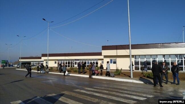 открытие КПВВ «Каланчак»