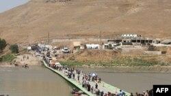 Të zhvendosurit nga komuniteti jazidi, Irak