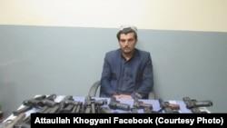 زهیر با بیست میل تفنگچه دستی در ناحیه چهارم شهر جلال آباد از سوی نیروهای امنیت ملی دستگیر شد.