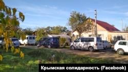 Місце проведення обшуку в селі Жемчужина Криму, 30 жовтня 2018 року