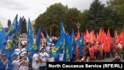 Митинг за честные выборы во Владикавказе, 19 августа, 2017 года
