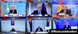 Онлайн-встреча министров иностранных дел стран Центральной Азии и верховного представителя ЕС по иностранным делам, 17 ноября 2020 года.